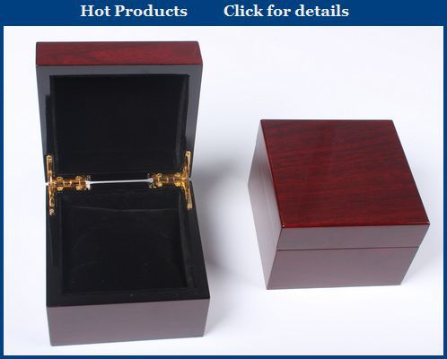 personalized glossy watch box wood,lacquer painting wooden watch box,black watch box wood with logo