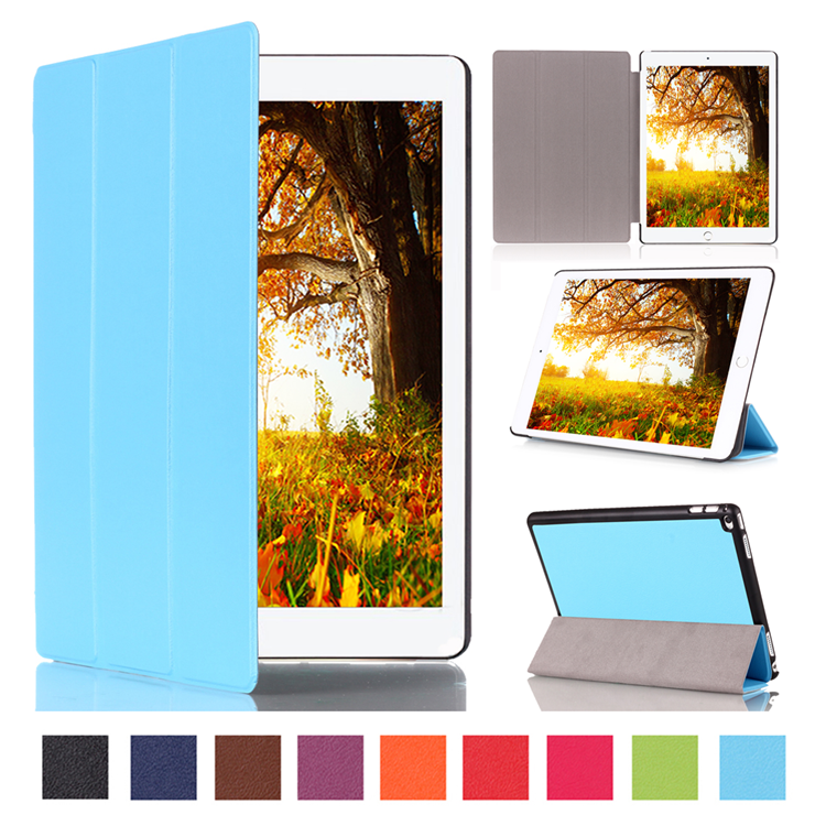 BRG 2015 new arrival fancy book style leather case for apple ipad pro