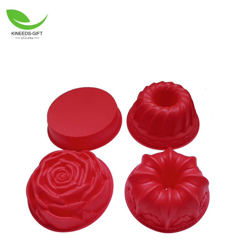 High Quality Big Pumpkin Shape FDA Silicone Cake Bakeware