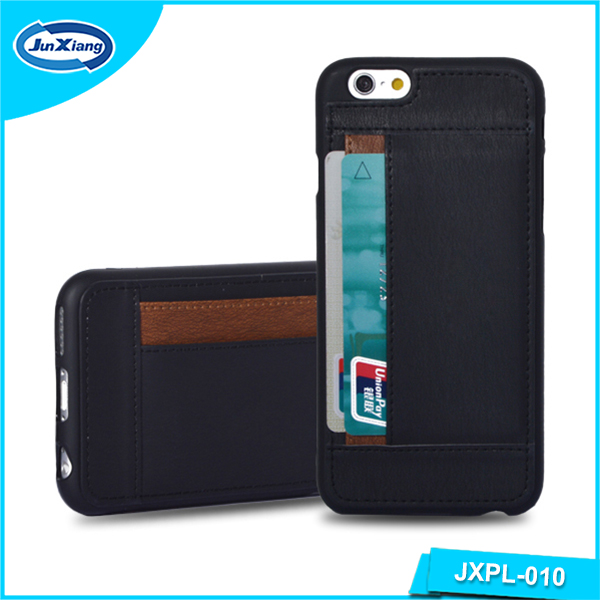 New Slim Design Leather Card Back Cover Case for iphone 6