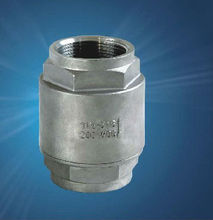 800PSI/PN40 1PC-SPRING VERTICAL CHECK VALVE SS316