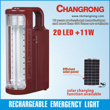 20pcs led and 11Watt tulbe rechargeable handy lantern