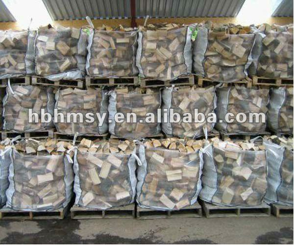 Breathable Vented firewood big sack bulk bag