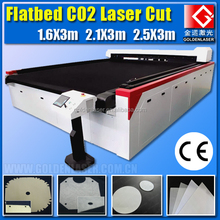 CO2 RF 275W Flatbed Laser Cutting Machine for Filter Cloth