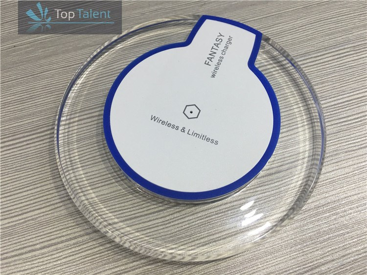 New universal wireless charger for mobile phone solar wireless mobile phone charger mobile phone battery charger