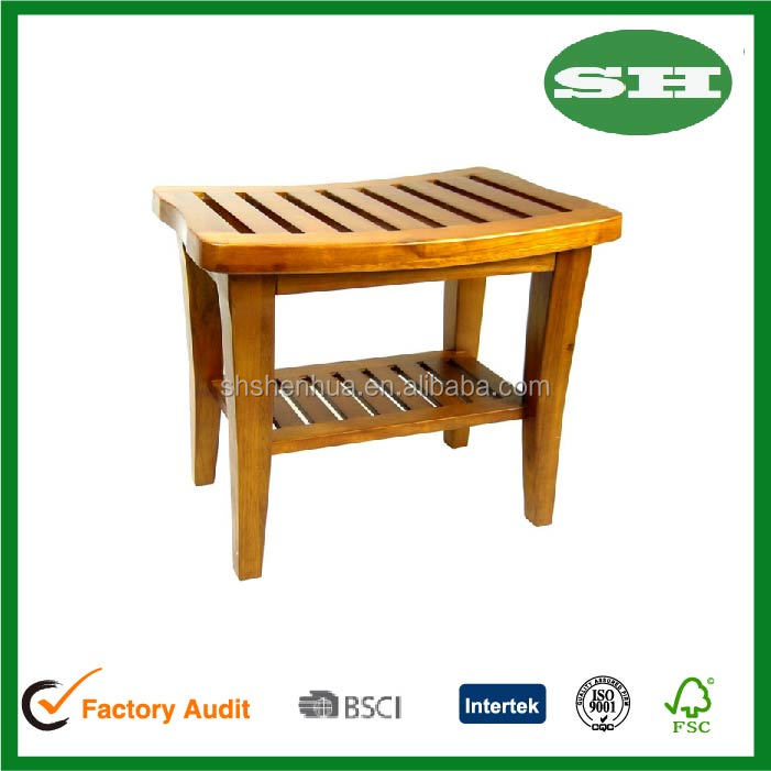Indoor Outdoor Home Garden Decor Classic Genuine Teak Wood Bench