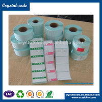 Hot sell single removable thermal paper blank adhesive roll sticker for packaging