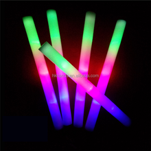 "18"" multi color foam baton LED light sticks"