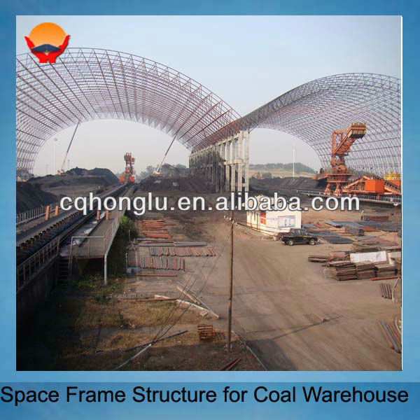 Honglu Construction Steel Structure Warehouse Design