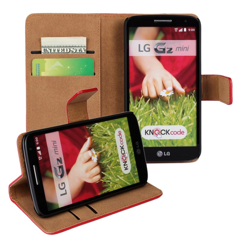 Phone Accessories Mobile Leather Wallet Case for LG G2 mini Book Stand Flip Cover Coque Capinha Cara Para