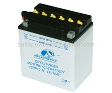 dry charge 12v 10ah gs motorcycle battery,ytz10s battery motorcycle