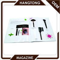 Best price custom factory print A4 Staple Binding Full Color Magazine