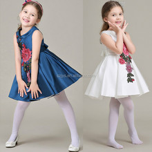 2016 1-6 years old baby girl dress birthday party children frocks designs