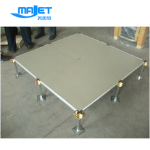 Anti-static Steel Cementitious Panel Raised Access Floor with pedestals for data center