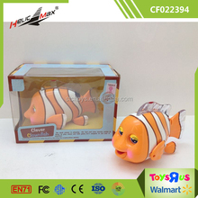 Hot Sale Infrared Ray Induction Realistic Clever Clownfish Baby Toy