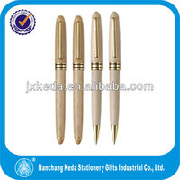 Wholesales promotional cheap with metal clips eco friendly natural bamboo pen