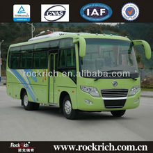 Manual Euro 3 DongFeng 30 seater passenger travel coach bus