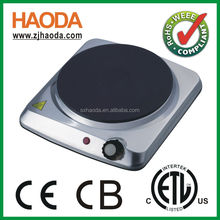 A13 ETL CETL APPROVED COOKING PLATE