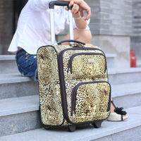 2013 new design PU trolley trolley luggage set