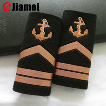 Military uniform rank epaulettes royal navy shoulder boards