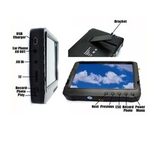 mini Portable 5inch all in one mobile dvr monitor dvr with built-in lcd screen monitor