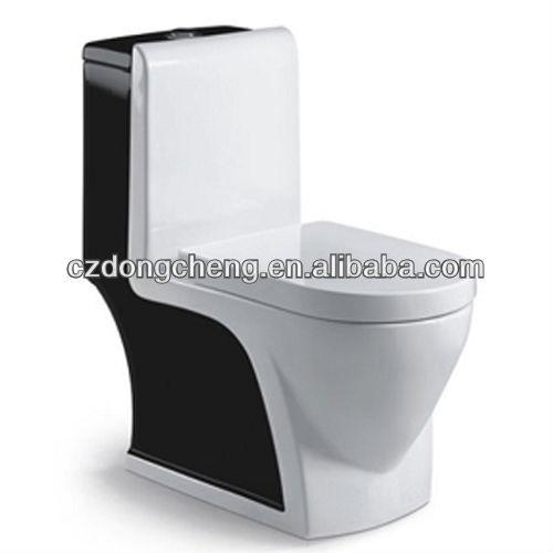 Bathrooom one piece colored types of toilet bowl