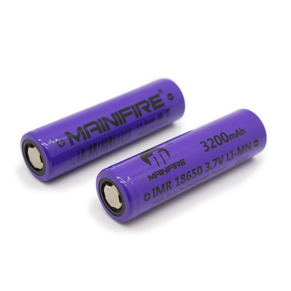 Mainifire 18650 3200mah 40a Li-Mn battery,Mainifire18650 40a,Mainifire 40 amp 18650 for flashlight E-cigs/Vaping