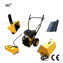 "6.5HP 23"" mini mechanical sweeper grass sweeper snow cleaning machine"