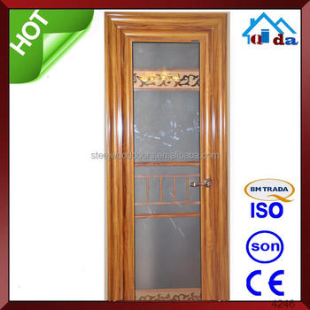 2015 new design sample doors aluminum security doors, aluminum composite panel doors