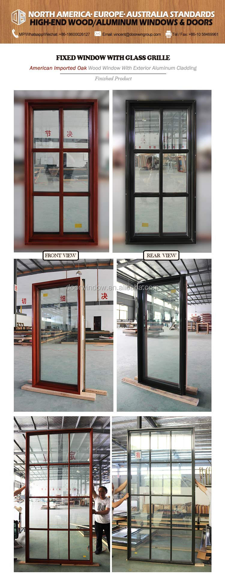 double hung picture window combination