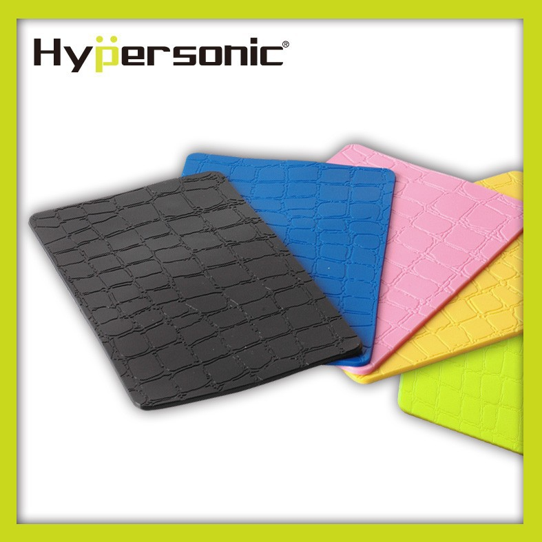 Hypersonic HP2712 car auto colorful rubber leather desk pad