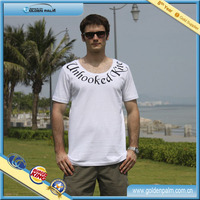 French style t shirts for men, Western style white t shirts, Pure white western t shrits