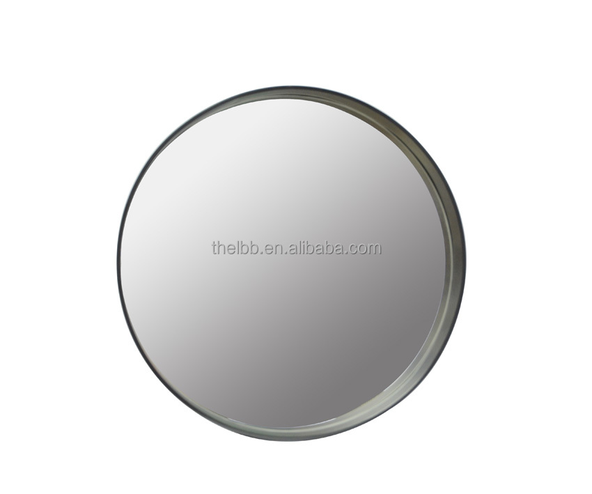 Decorative Metal Framed Round Mirror Circles For Walls