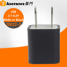 Customized US Plug Wholesale AC Power Adapter 18650 Battery Portable USB Charger