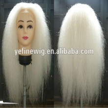 Stock Santa Claus Yak Hair Christmas Wigs and Beard and Moustache and Eyebrown