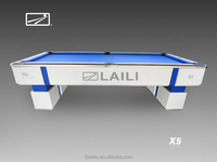 LAILI Professional Tournament Billiard Table X5-W ---pool Table for Nine ball game