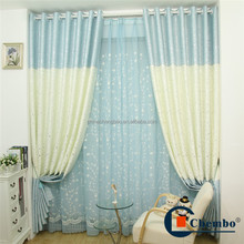 2016 new blackout printed window curtain covering