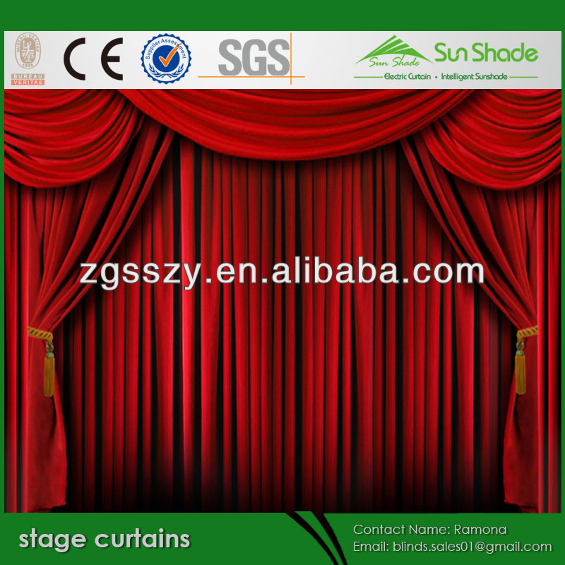 Discount classical Home theater curtains for promoting sales