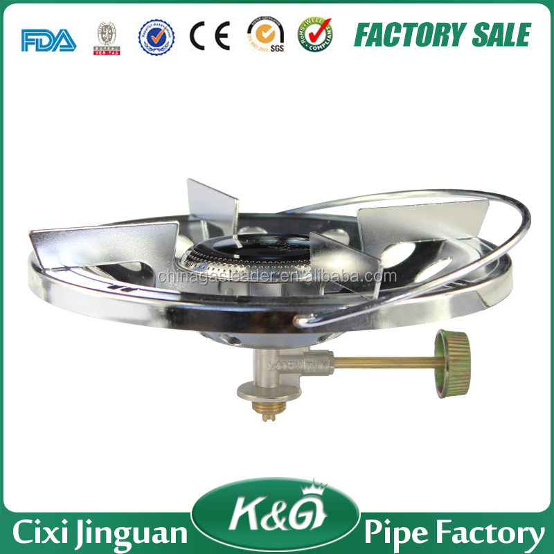 Made in China hot sale product mode in italy type portable camping stove, single burner gas stove for super flame