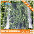 transparent corrugated roofing sheets/warehouse greenhouse sun house/fiberglass skylight roof panel