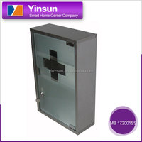 Wall-mounted stainless steel madicine storage cabinets with lock MB 172001SS