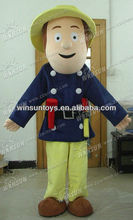 2013 lovely hot sales fireman sam costume
