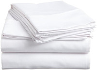 China manufacturer queen size home textile 100 cotton bedding set elastic fitted bed sheets