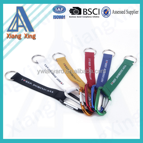 Hot sale keyring wholesale camera accessories with carabiner hook