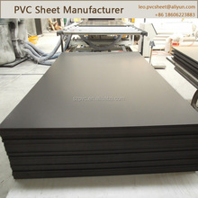 0.2mm/0.6mm thickness Black Thin Flexible PVC Plastic Sheet