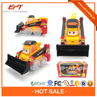 Battery operated construction vehicles plastic construction truck toy for wholesale