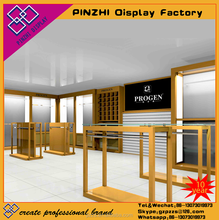 Designer top quality clothes store plywood display