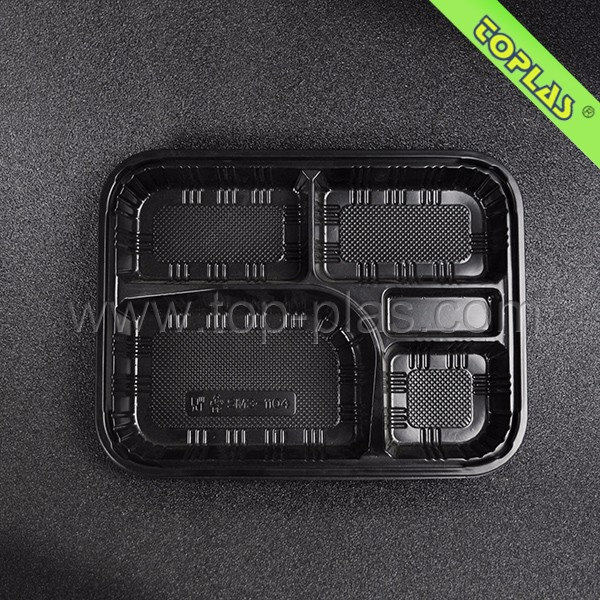Disposable Compartment Plastic PP Dinner Plates