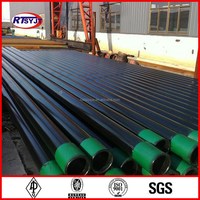 K55 Oil Casing Pipe, API-5CT Casing Pipe, Seamless Casing Pipe with Coupling and Thread Protector