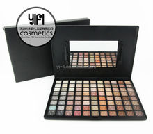 Overstock cosmetics ! 88 color warm eye shadow palette G# cosmetics wholesale